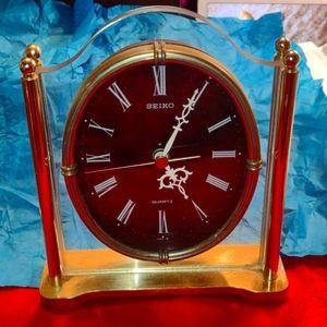 Gorgeous Gold Seiko Mantle Clock